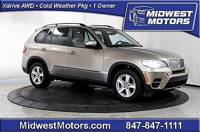 BMW : X5 35d 2012 bmw x 5 xdrive 35 d diesel awd nav 1 owner cold weather pkg panoramic roof
