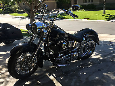 American Classic Motors : HARLEY DFAVIDSON FATBOY SPCN HARLEY DAVIDSON CUSTOM SPCN, FATBOY, BEAUTIFUL CONDITION, BLCK AND CHROME.