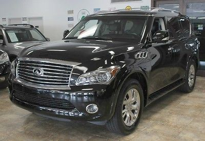 Infiniti : QX56 7-passenger 2011 infiniti qx 56 nav rear cam dvd sunroof heated seats loaded 1 onwer only 77 k