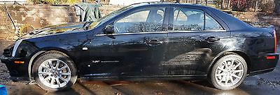 Cadillac : STS V 2007 cadillac sts v sedan 4 door 4.4 l light front end damage