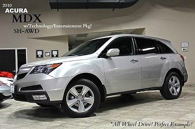 Acura : MDX 4dr SUV 2010 acura mdx suv factory navigation system heated seats rear entertainment wow