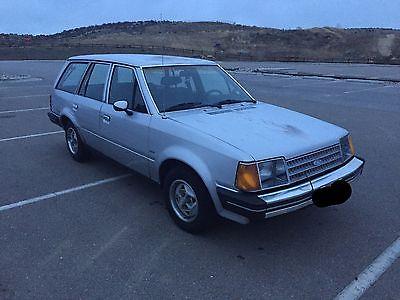 Ford : Escort 1984 ford escort diesel wagon gl 5 speed 50 mpg