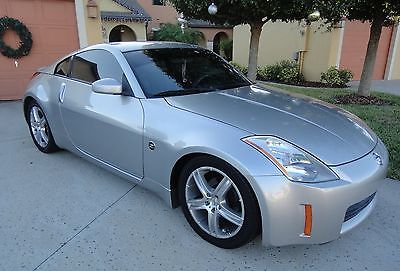 Nissan : 350Z TRACK EDITION/ BOSE 2003 nissan 350 z special track edition silver florida beauty with momo wheels