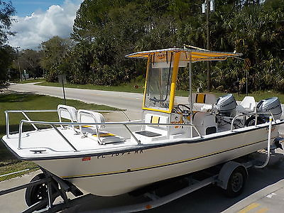 14 HOURS- 2003 TWIN VEE 20 AWESOME OUTRAGEOUS 2013 HONDA 4-STROKES CATAMARAN KAT