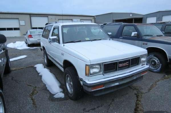 1989  GMC  S15 JIMMY 4X4