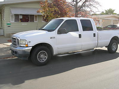 Ford : F-250 XLT Super Duty - Crew Cab - Long Bed 2002 ford crew cab long bed tow package gooseneck ball hitch nice condition