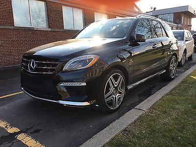 Mercedes-Benz : M-Class Designo 2012 mercedes benz ml 63 amg fully loaded with designo package
