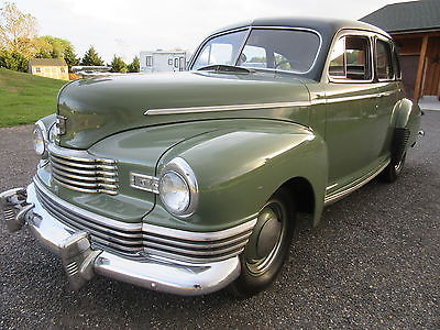 Nash : Super 600 Chrome 1947 nash super 600