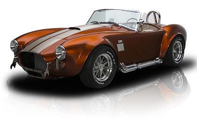 Shelby : Cobra Showroom New Cobra Roadster 5.0L Ford V8 T5 5 Speed 4-Link Coil Over Shocks