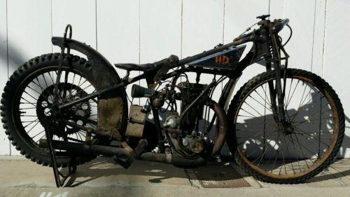 Rare 1928 Harley Model Ba Peashooter Single 350cc: 350 Cc Motorcycles For Sale