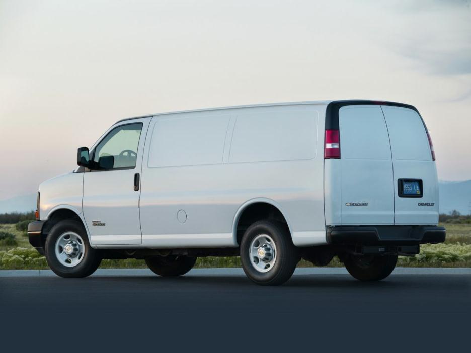 2016 Chevrolet Express Van G2500hd