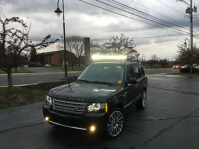 Land Rover : Range Rover HSE, Upgrade to Supercharged model Range Rover Upgraded