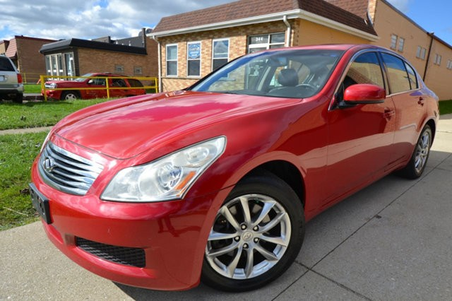 2007 Infiniti G35 Sedan 4dr Automatic G35x AWD