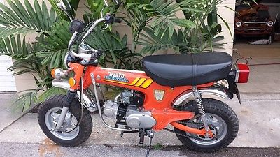 Honda : CT Honda Minitrail CT70 1977
