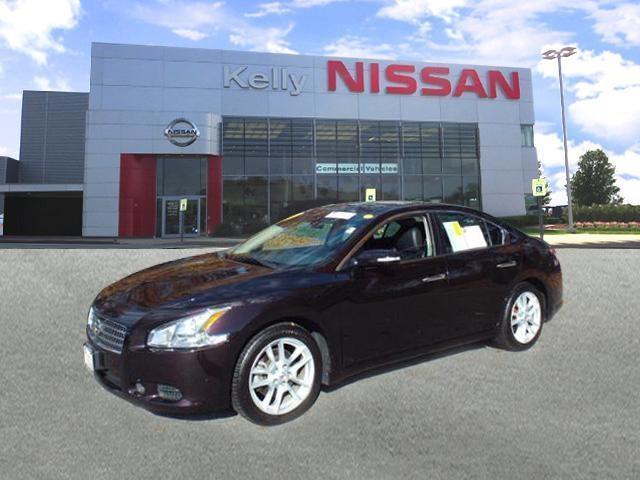 2010 Nissan Maxima Car 4dr Sdn V6 CVT 3.5 SV w/Premium Pkg