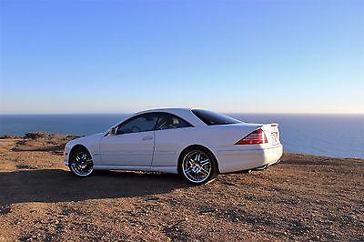 Mercedes-Benz : CL-Class 600 2003 mercedes cl 600
