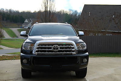 Toyota : Sequoia Limited Sport Utility 4-Door 2014 toyota sequoia limited 4 x 4 18860 miles