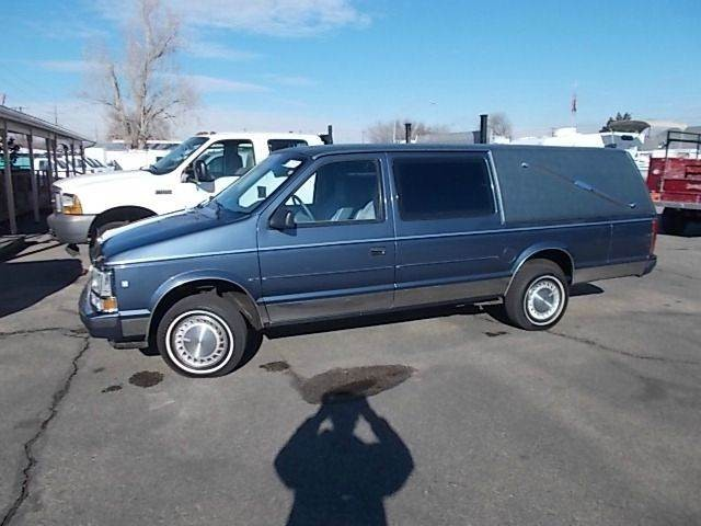 1988 Plymouth Grand Voyager SE 3dr Passenger Van Extended