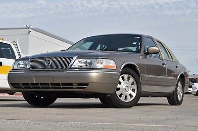 Mercury : Grand Marquis GS 2004 mercury gs