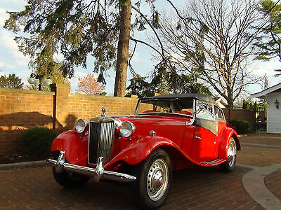 MG : T-Series 1950 mg td beautiful restoration with less than 250 miles since 1 condition
