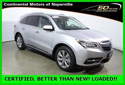 Acura : MDX Super low miles and like new fully loaded Advance 2015 advance pkg w entertainment pkg used certified loaded