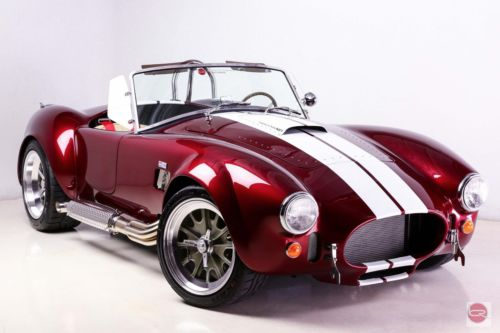 Shelby : RT3 Leather NEW 1965 BACKDRAFT ROADSTER 427 Ford 480HP T5 MONTERY PEARLE stripes DOVE int