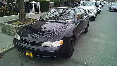 Toyota : Corolla CE Sedan 4-Door 2000 toyota corolla ce sedan 4 door 1.8 l black
