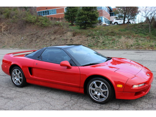 Acura : NSX NSX 1992 acura nsx 5 spd 3.0 dohc v 6 8000 redline clean carfax 91 k miles leather int