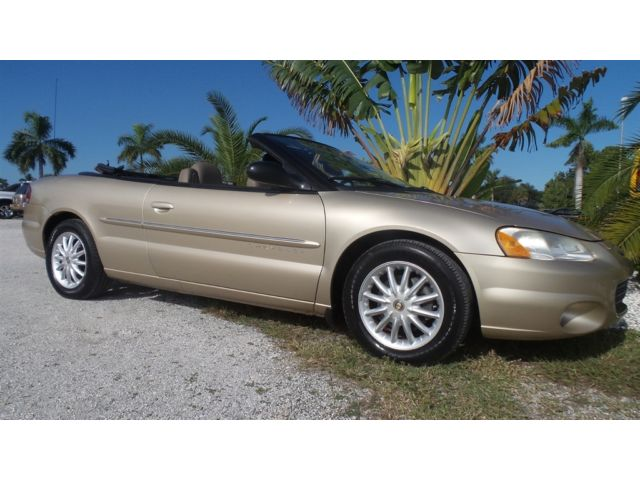 Chrysler : Sebring LXI ,Air Bags,Air Conditioning,AM / FM Cassette Radio,AM/FM Stereo,CD Player,Conver
