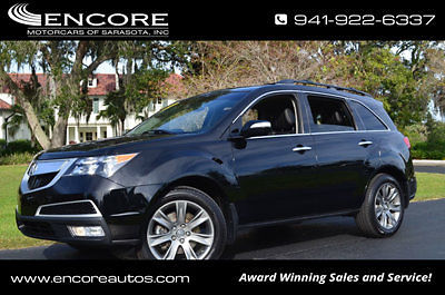 Acura : MDX SH-AWD 4dr Advance Pkg W/Navigation 2010 acura mdx sh awd 4 dr advance pkg w navigation sunroof tow package