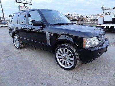 Land Rover : Range Rover Range Rover 2006 range rover supercharged