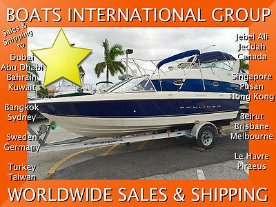 2013 BAYLINER DISCOVERY 195 ZERO HOURS - CE We Ship/Export Worldwide