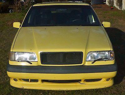 Volvo : 850 854 1995 volvo 850 854 t 5 r 20 th anniversary limited edition rare banana yellow