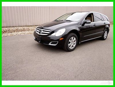 Mercedes-Benz : R-Class 2006 Mercedes R350 R500 AWD + 1OWNER+Navi+LOW MILE 2007 mercedes benz r 350 r 500 awd black 1 owner navi 2 sunroof low miles