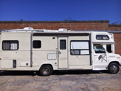 1988 Ford Mobile Traveler Class C Motorhome RV
