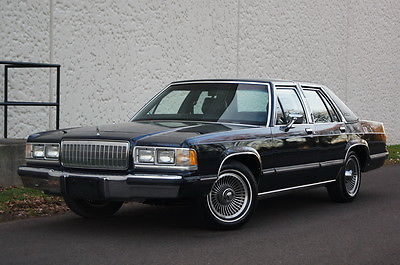 Mercury : Grand Marquis 4dr Sedan LS ONLY 83K MILES LEATHER RUNS & DRIVES GREAT EXTRA CLEAN