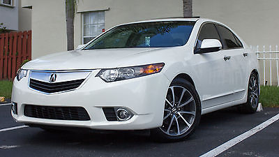 Acura : TSX Base Sedan 4-Door White 2011 Acura TSX Base Sedan 4-Door 2.4L Excellent Condition 59000 miles