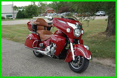Indian : Roadmaster® 2015 indian roadmaster indian red loaded