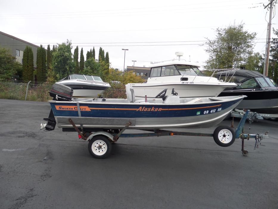 Smokercraft boats for sale in tigard oregon for Smoker craft alaskan 15