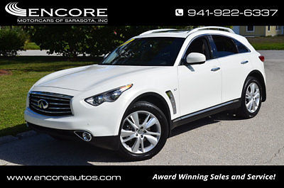 Infiniti : QX70 RWD 4dr SUV W/Deluxe Touring and Technology Packag 2015 infiniti qx 70 rwd w deluxe touring and technology packages sunroof sensors