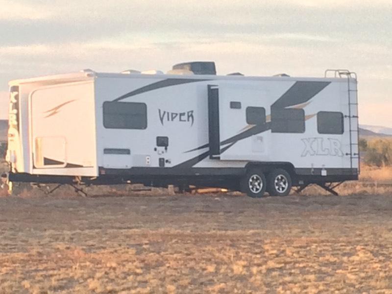 2013 viper xlr 29ckv toy hauler camper trailer