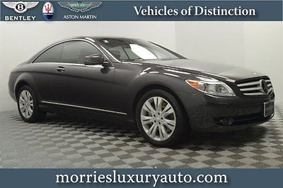 Mercedes-Benz : CL-Class CL550 4MATIC 10 cl 550 heat cool seats harmon kardon sound nightview assist distronic plus