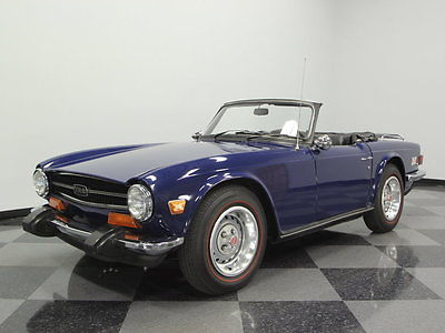 Triumph : Other GORGEOUS MALLARD BLUE, GREAT DRIVING CAR, 2.5L INLINE SIX, 4-SPEED, DETAILED!