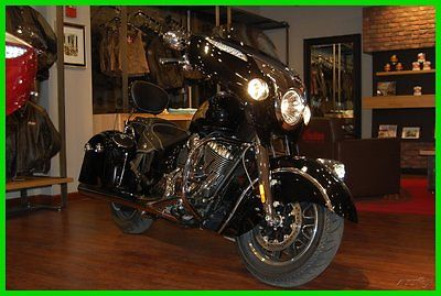 Indian : Chieftain® 2015 indian chieftain thunder black new