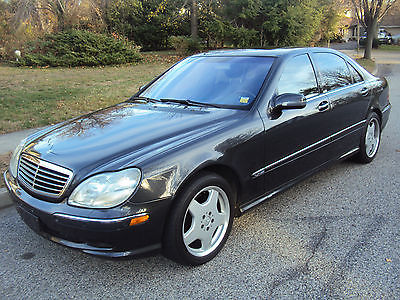 Mercedes-Benz : S-Class S600 V12 With AMG Package MERCEDES BENZ S600 V12 WITH AMG PACKAGE *29,000 ORIG MILES * LIKE NEW * RARE!!!