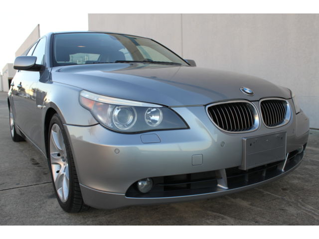BMW : 5-Series 4dr Sdn 545i 2004 bmw 545 i sports premium auto pdc 18 wheels only 69 k miles top loaded clean