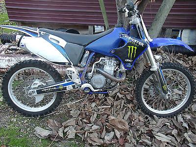 Yamaha : YZ 2002 yamaha yz 426 f