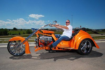 Custom Built Motorcycles : Other Custom Hot Rod V8 Trike  1934 style Rat Rod Chopper Harley Davidson not