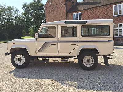 Land Rover : Defender 110 1988 land rover defender 110 factory 3.5 v 8 county station wagon