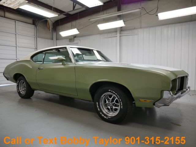 Oldsmobile : Cutlass 1972 cutlass 2 door coupe rust free daily driver southern